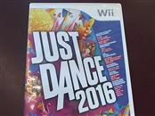 NINTENDO WII JUST DANCE 2016